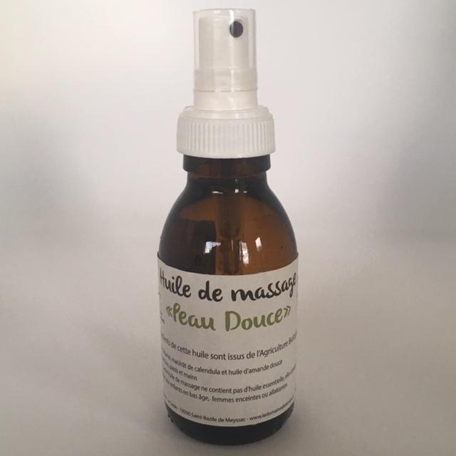 Huile de massage Peau Douce - 100 ml