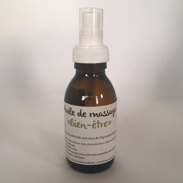 Huile de Massage Bien être - 100 ml