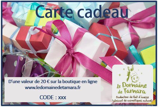 Carte Cadeau 3
