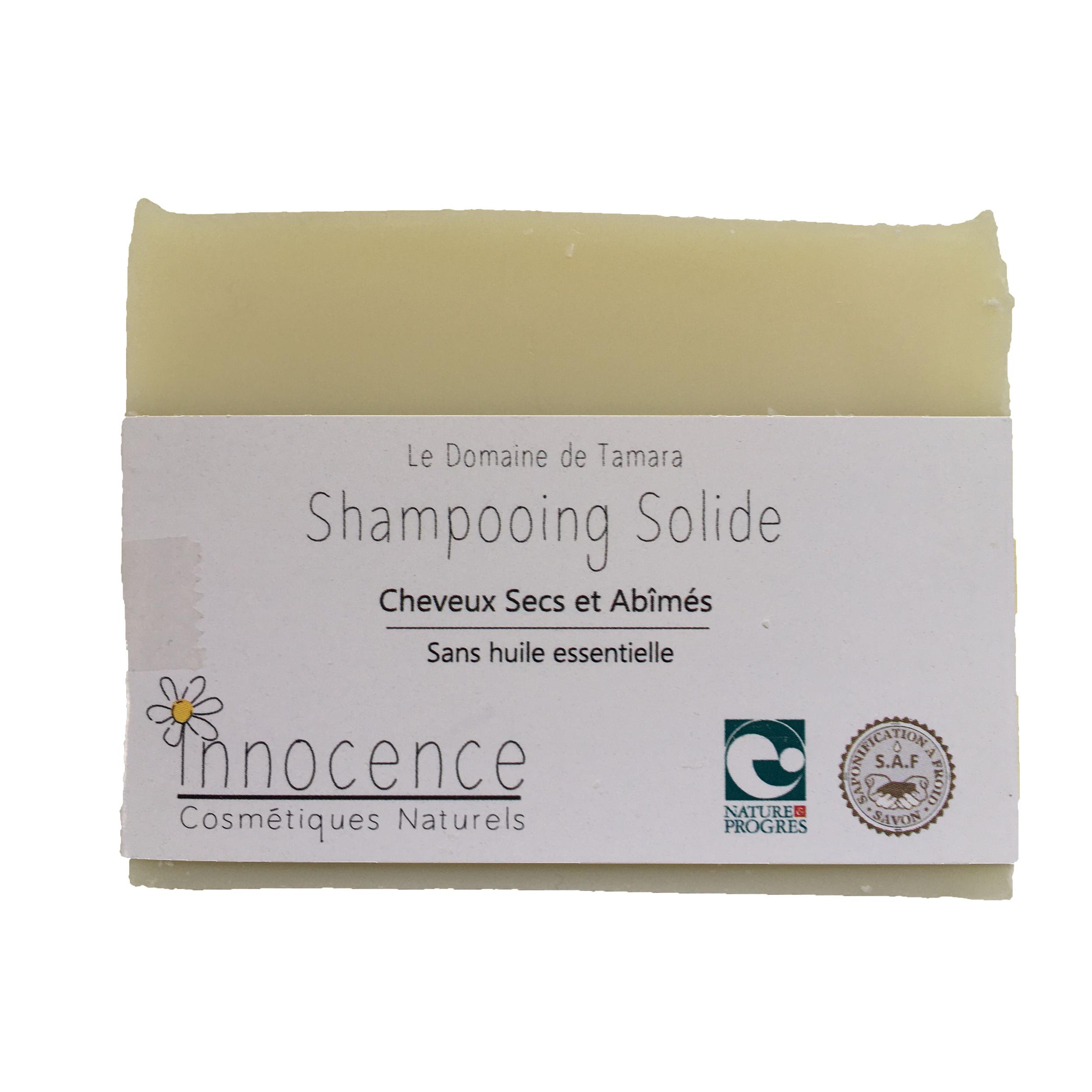 Shampooing SANS lait d\'ânesse - Cheveux secs et abîmés - Sans huile essentielle