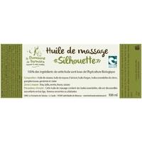 etiquette huile silh