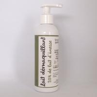 Lait démaquillant - 20% de lait d'ânesse BIO - 200 ml