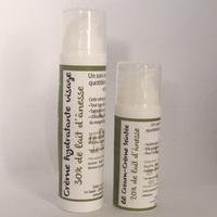 Pack crème hydratante visage + bb cream