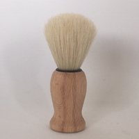 Blaireau pin huilé, soie naturelle