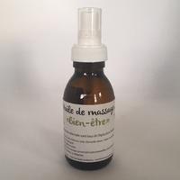 """Huile de Massage """"Bien être"""" - 100 ml"""