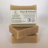 40% de lait d'ânesse frais et BIO   - Le Provençal