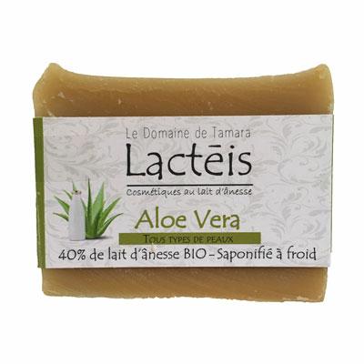 40% de lait d'ânesse frais et BIO - Aloe Vera