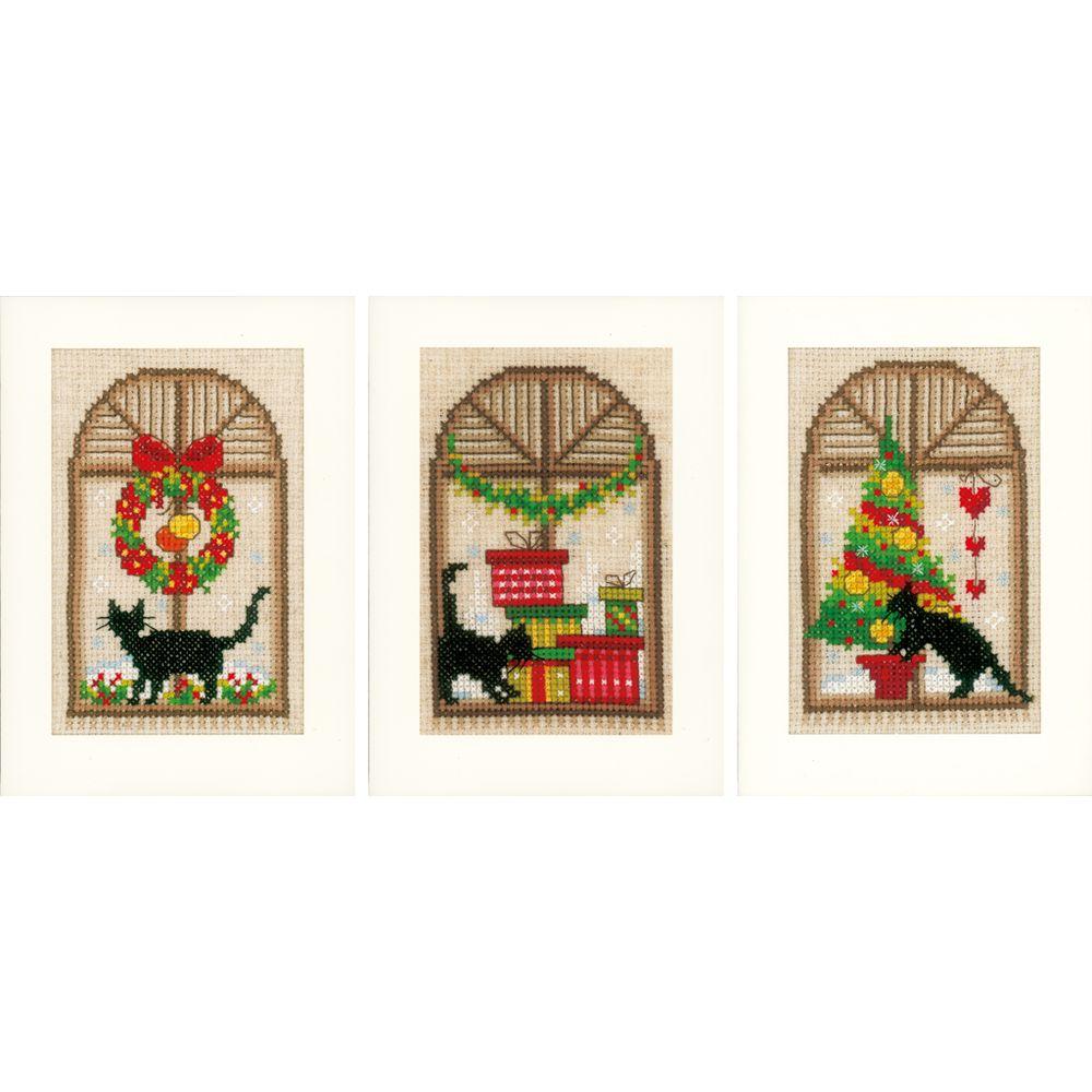 Vervaco  Trois cartes de Noël  0150427