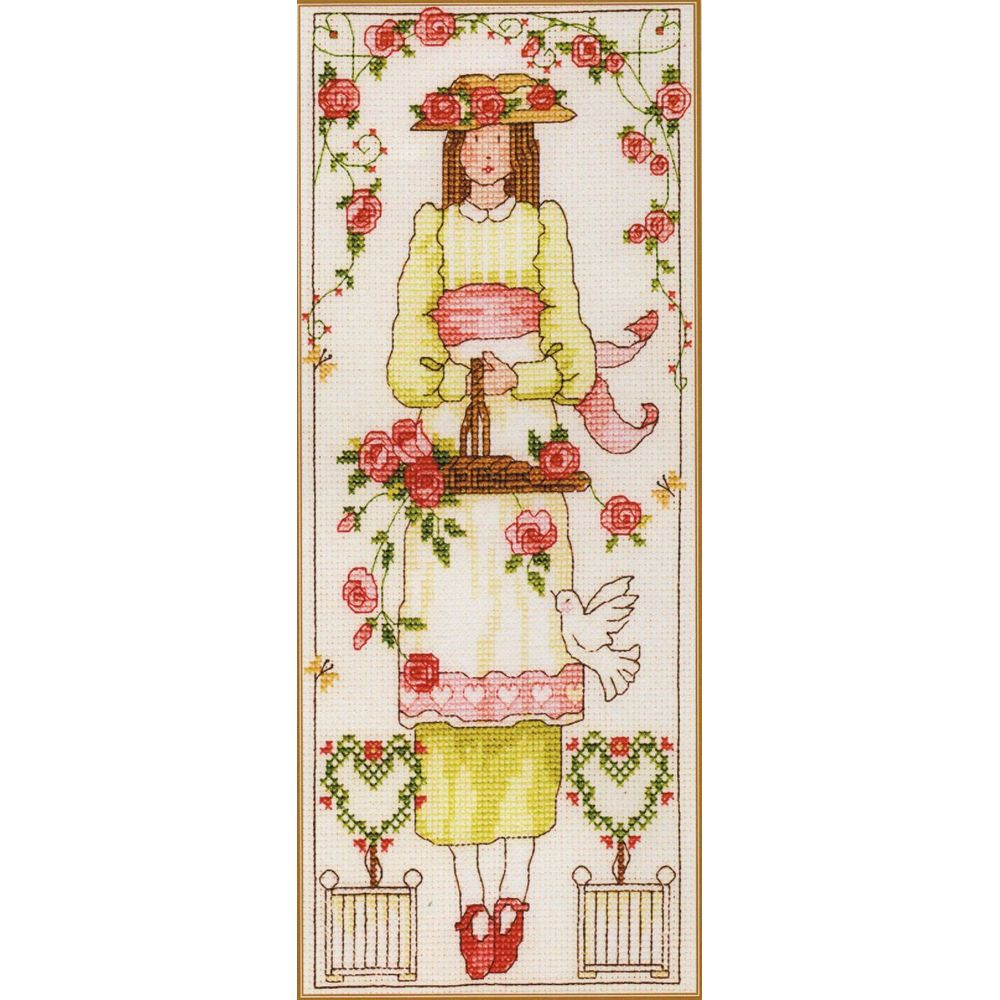 Femme aux roses XCL6 Bothy Threads