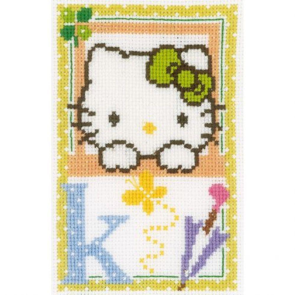Hello Kitty Lettre K  0149540  Vervaco
