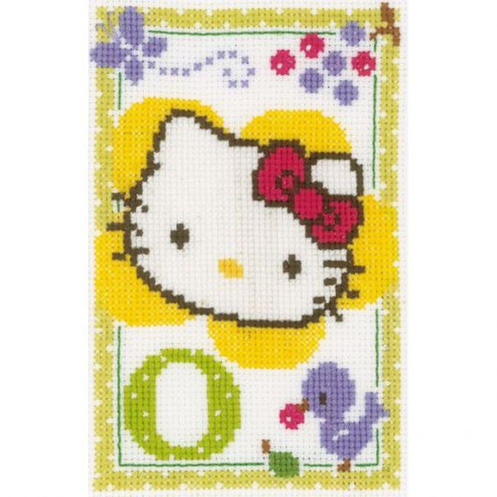 Hello Kitty Lettre O  0149546  Vervaco