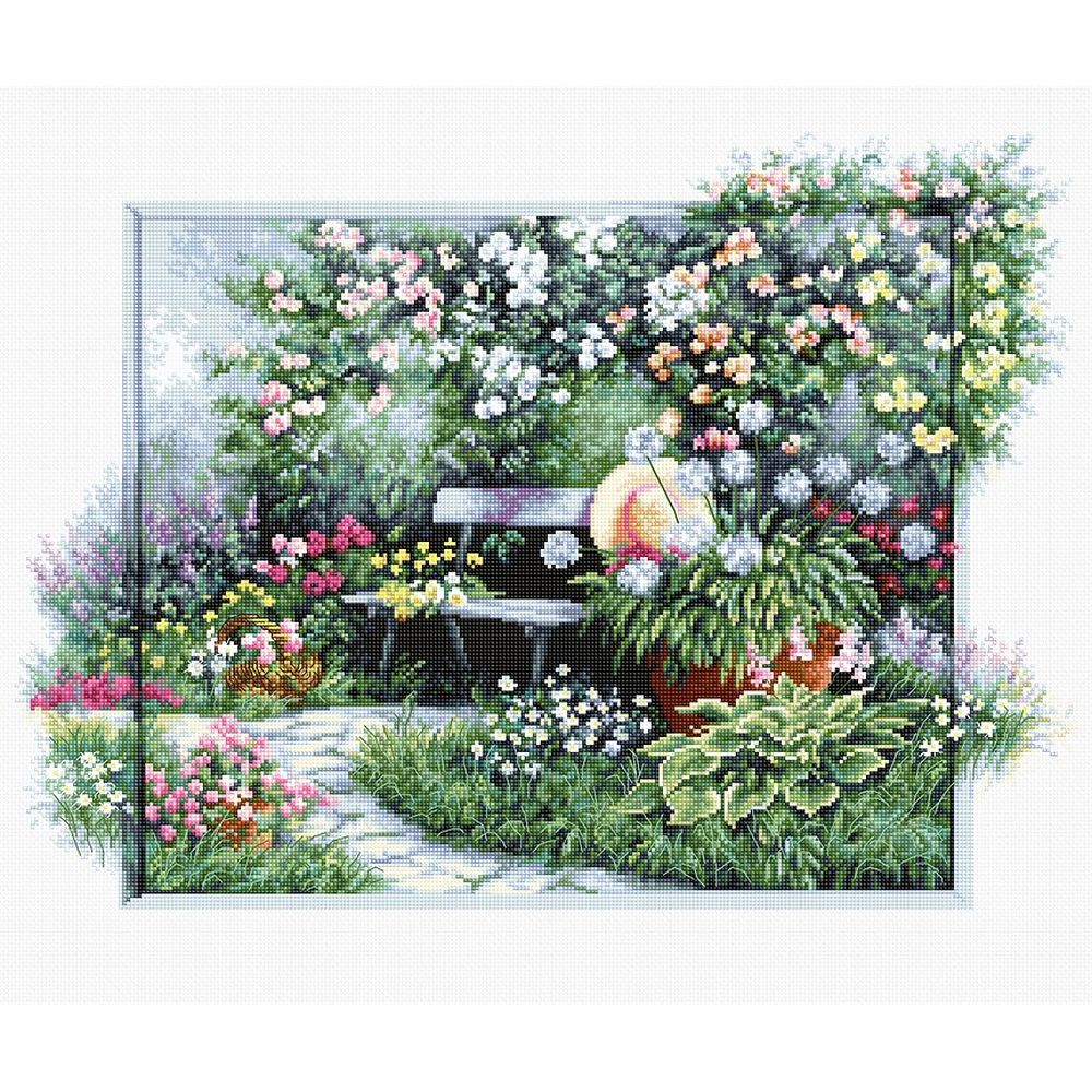Jardin fleuri  BU4012  Luca-S
