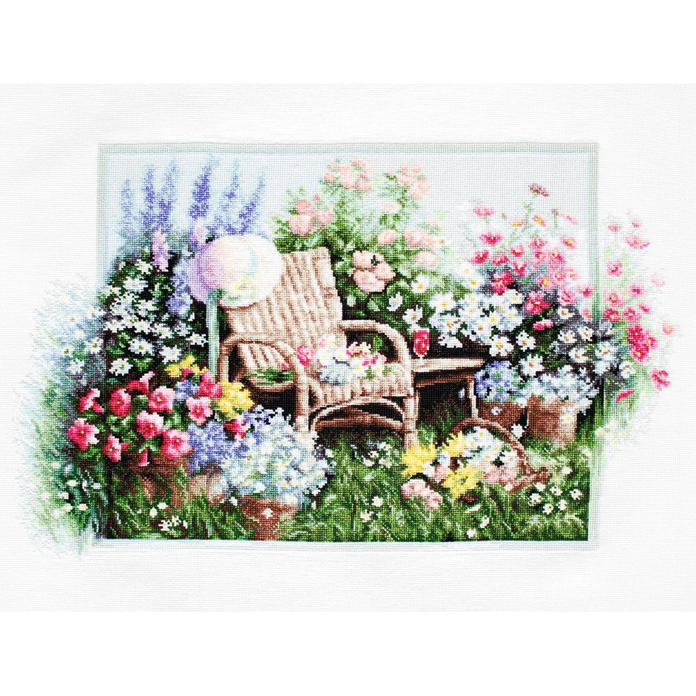 Jardin fleuri  B2344  Luca-S