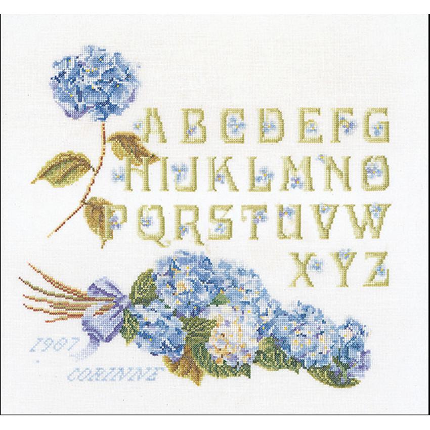 Hydrangea Alphabet  2088  Thea Gouverneur