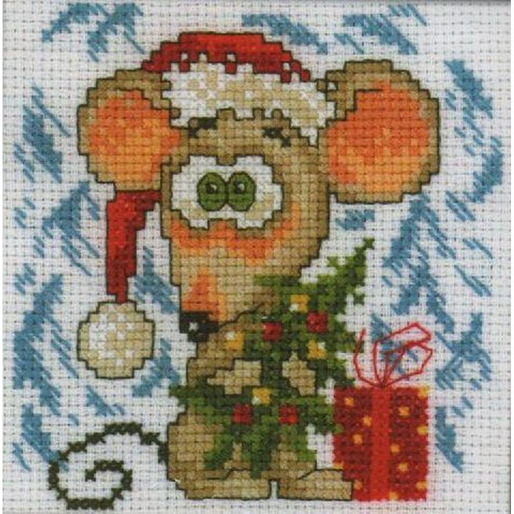 Souris de Noël  H161  RTO