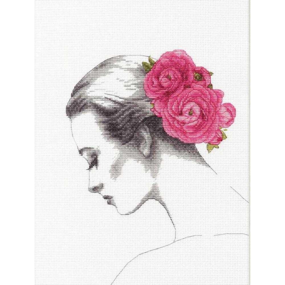 Portrait Floral  70-35379  Dimensions