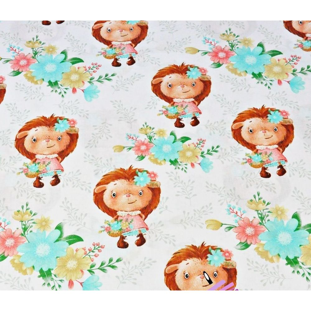 cotton-hedgehogs-girls-with-flowers-on-a-white-background