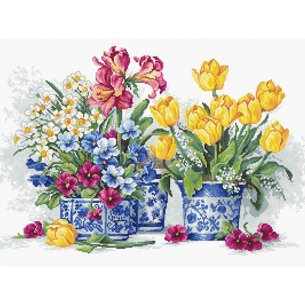 Fleurs de printemps  B2385  Luca-S