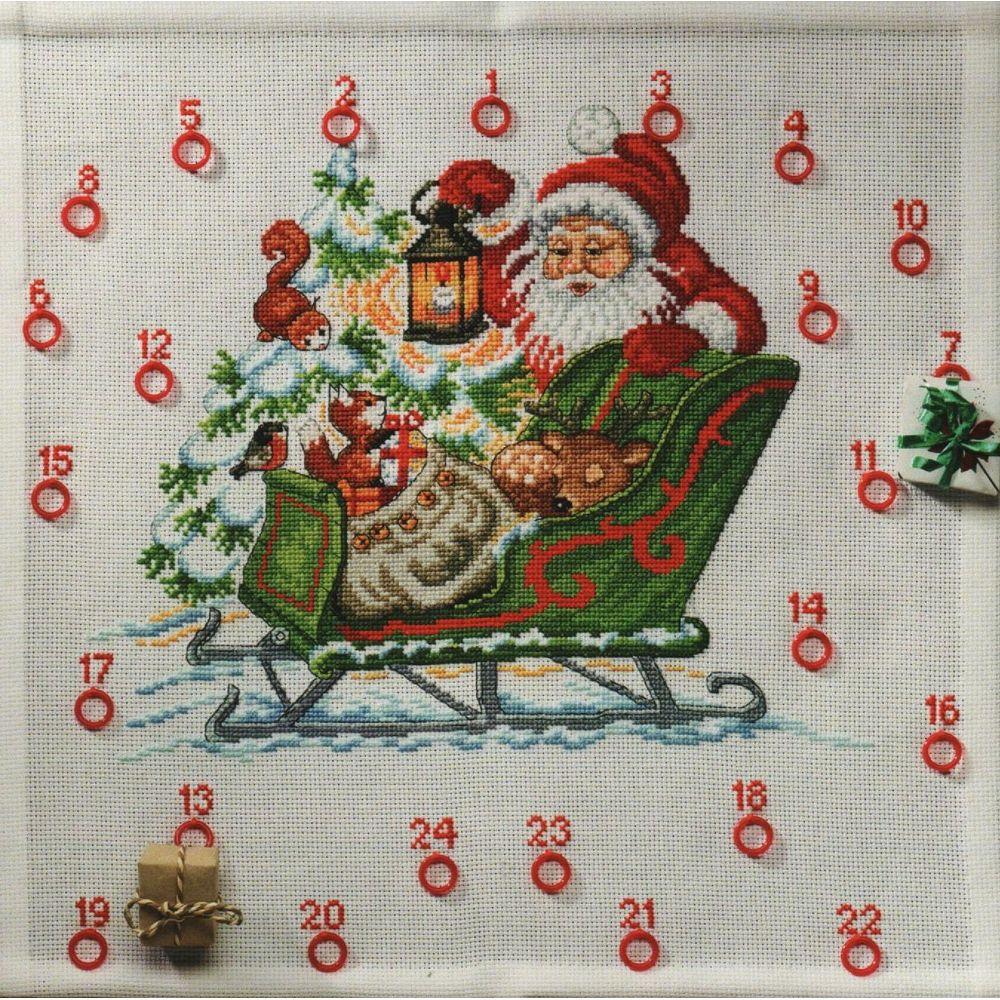 Le Traineau du Père Noël  34-1222  Permin