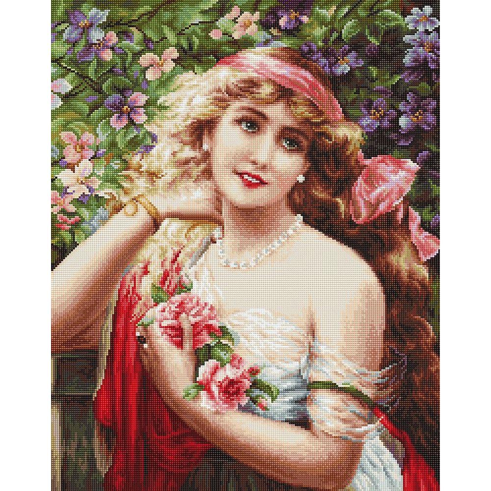 Femme à la roses  LUCA-S  B549