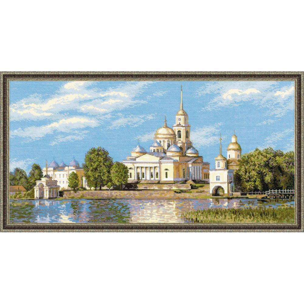 Le monastère de Nilov - Riolis 1457
