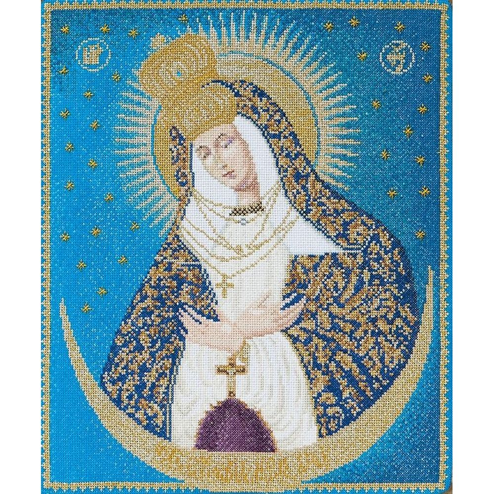 Icône  Our lady  of the down  530A  Thea Gouverneur