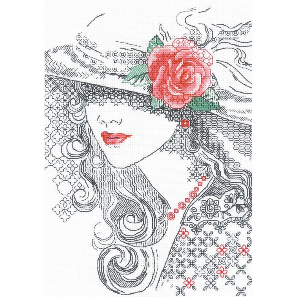 Rose mystérieuse  1887  Riolis