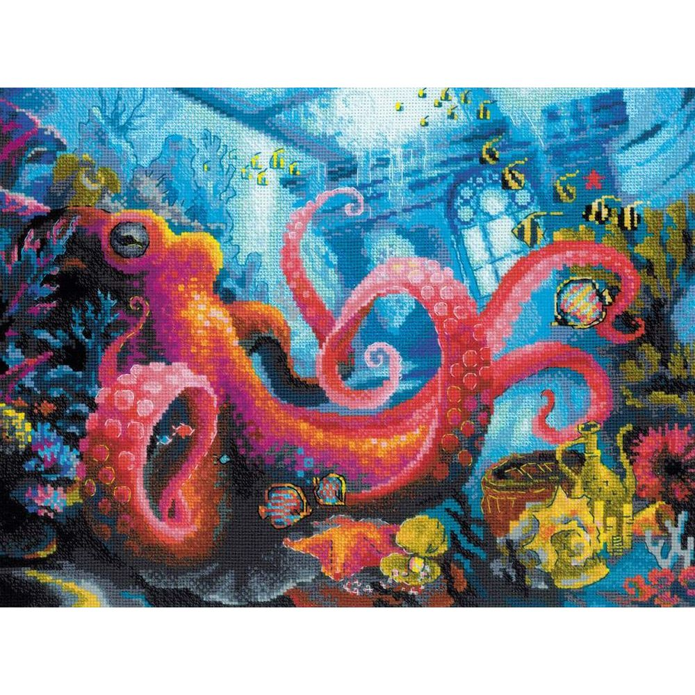 Le royaume sous-marin  1788  Riolis