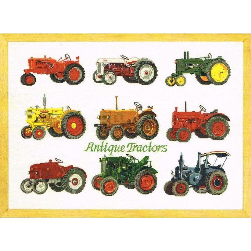 Tracteurs Antique  lin  70-9455  Permin