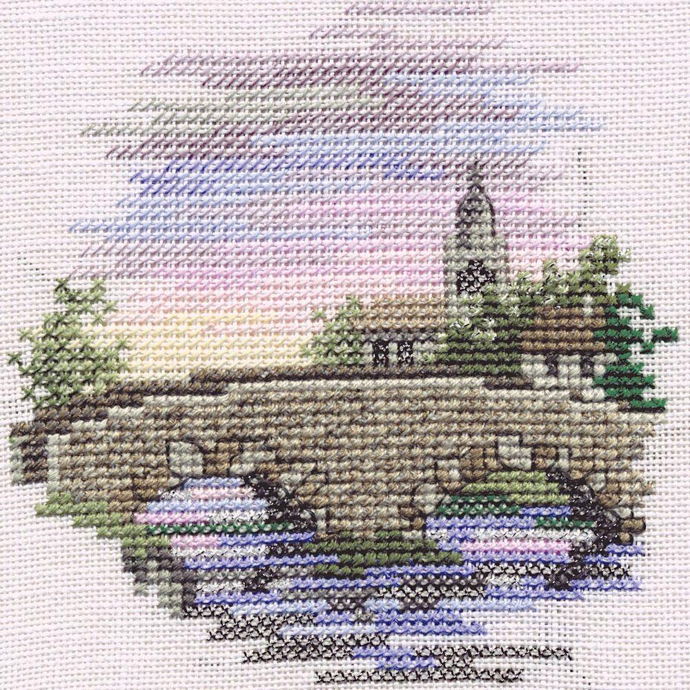Bothy Threads MIN12 - pont - Bridge - kit point de croix compté - La Brodeuse