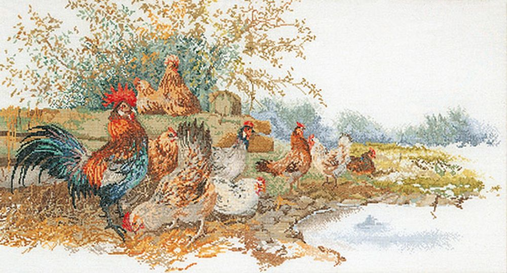 Thea Gouverneur  2038A  Chickens