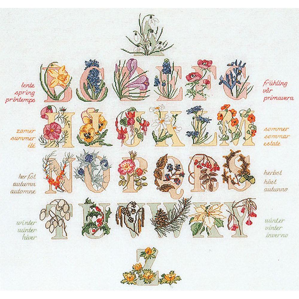 Thea Gouverneur  2025A  Alphabet floral