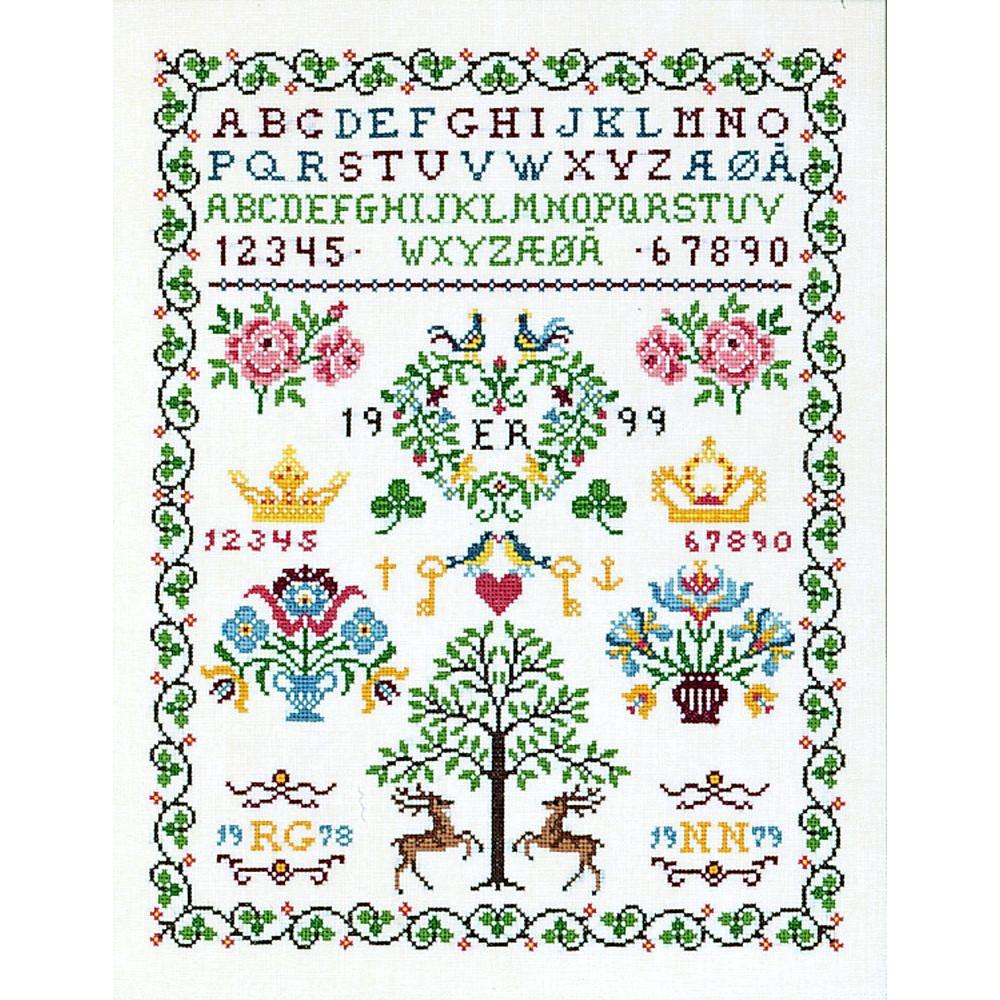 SAMPLER ARBRE  EVA ROSENSTAND  12-538