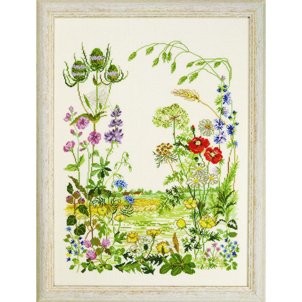 Fleurs des Champs , Permin 90,2316 , Kit Aïda