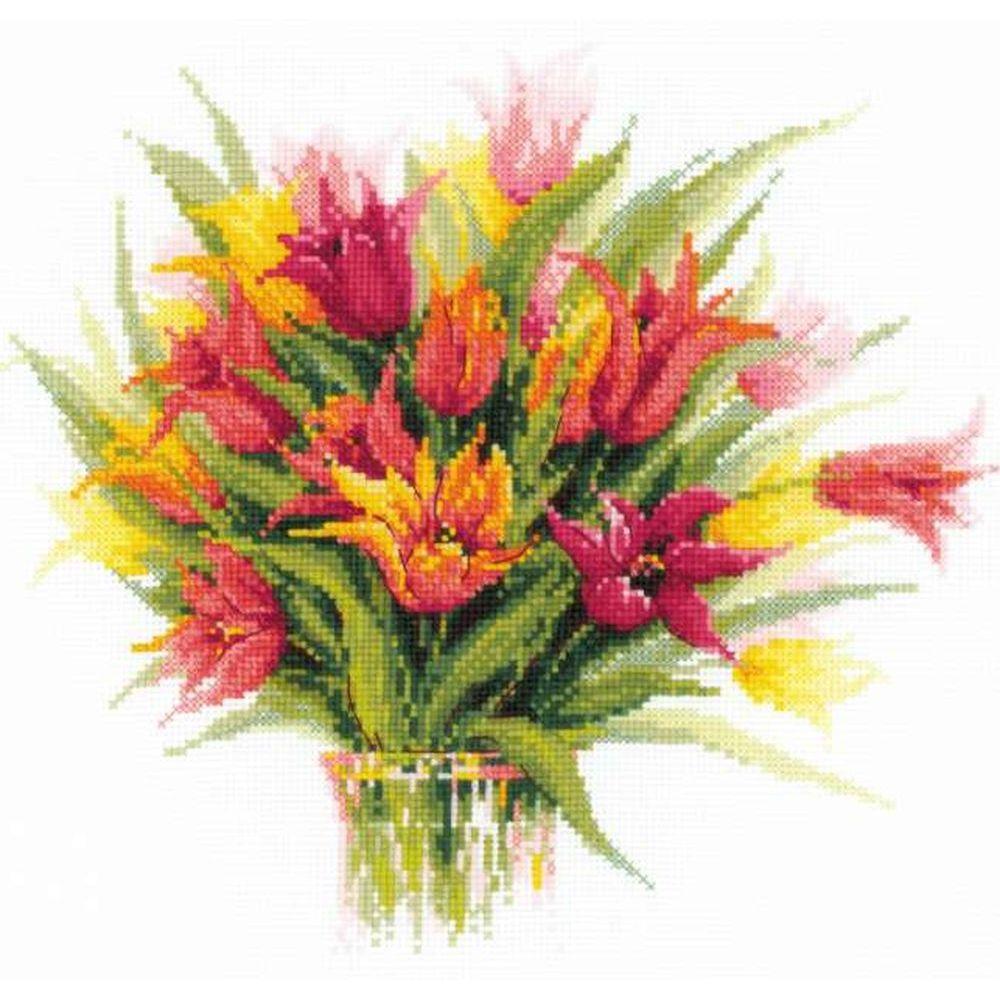 Bouquet de tulipes  1293  RIOLIS