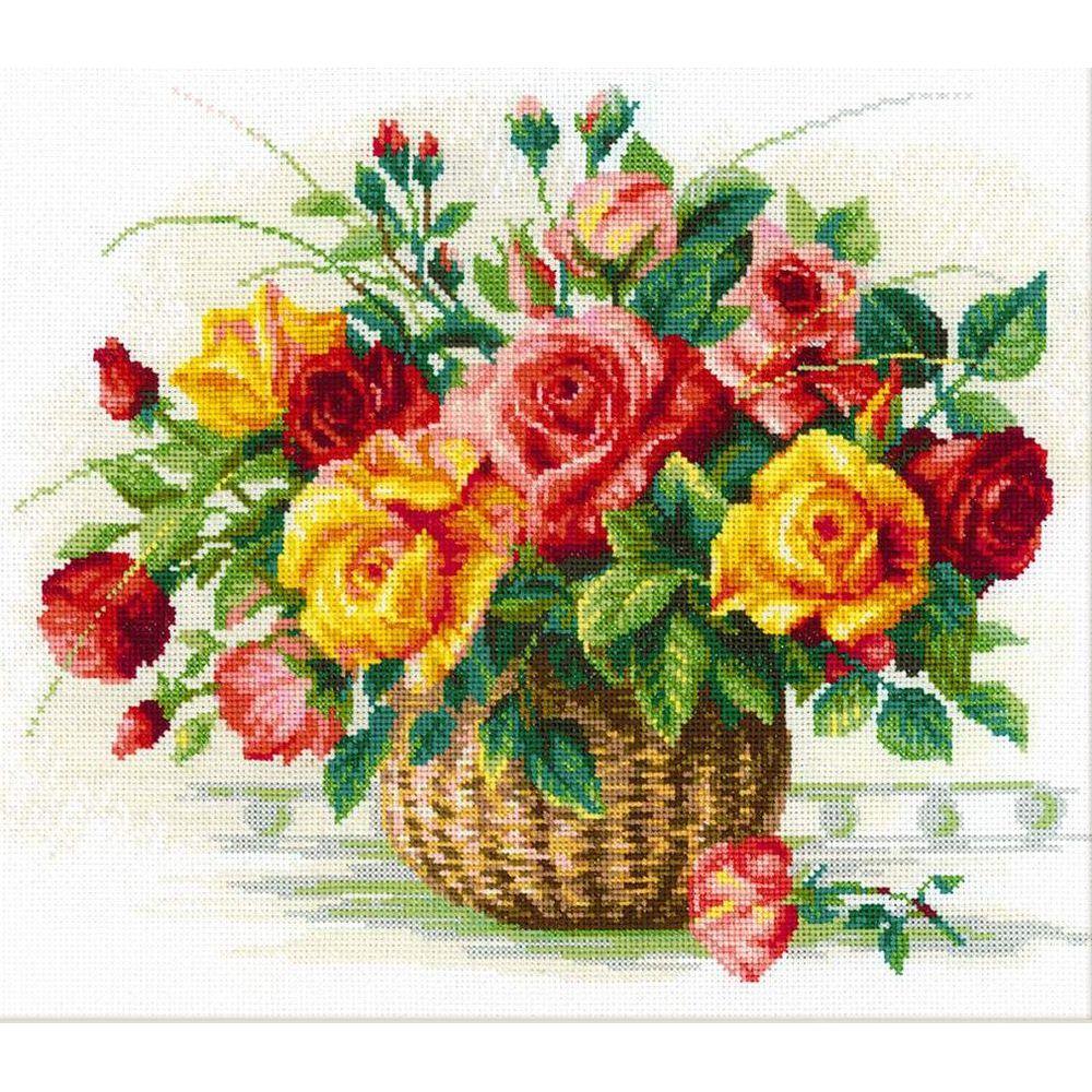 Bouquet de Roses  1722  Riolis