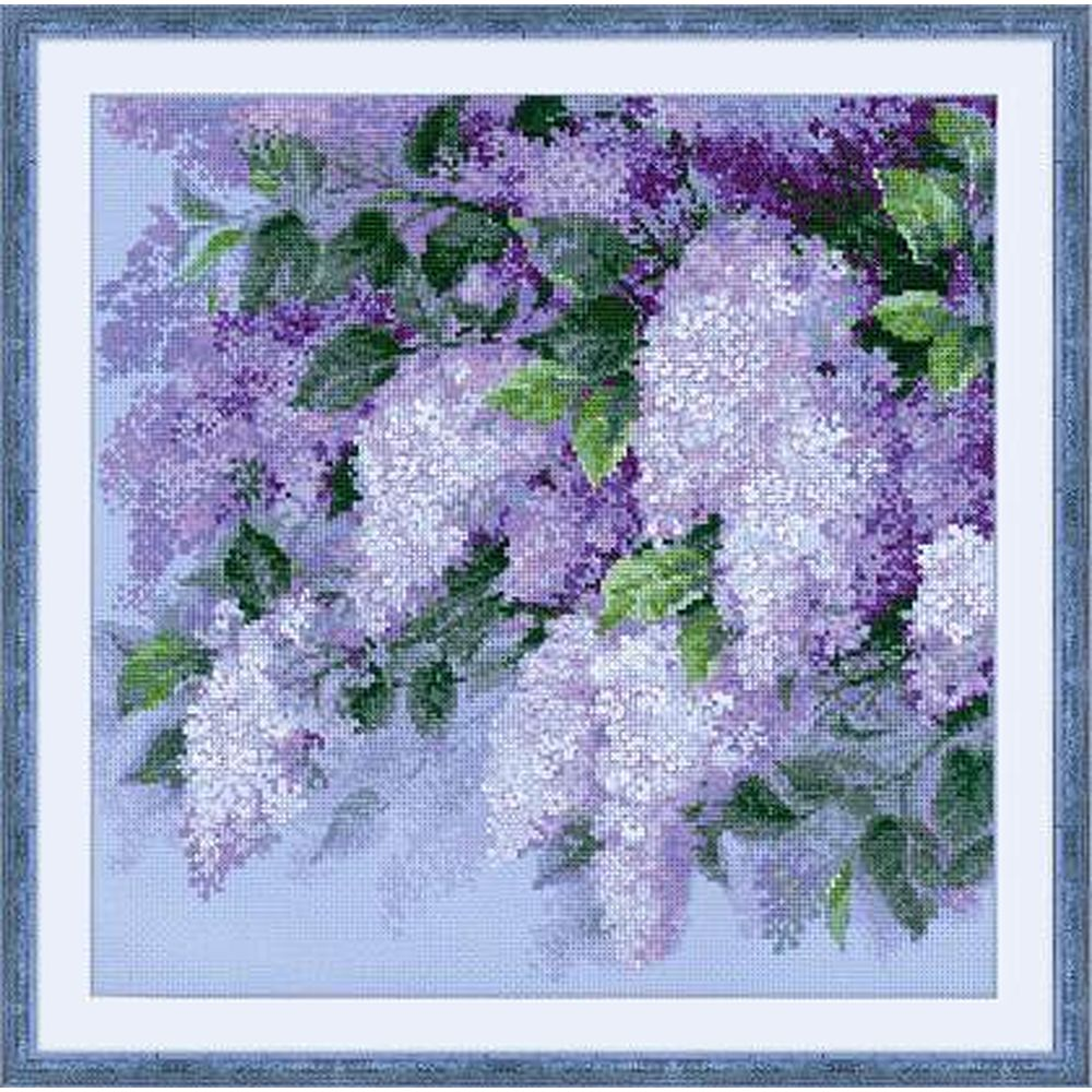Plusieurs Tailles Disponibles ZWEIGART lilas 14 Comte Aida