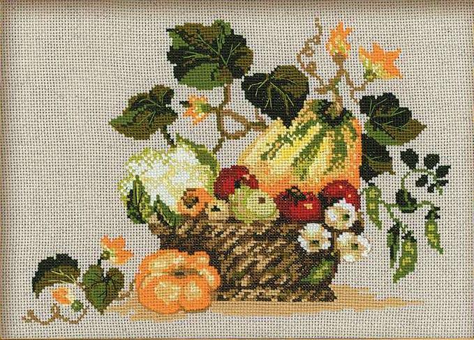 Panier de fruits  1076  Riolis