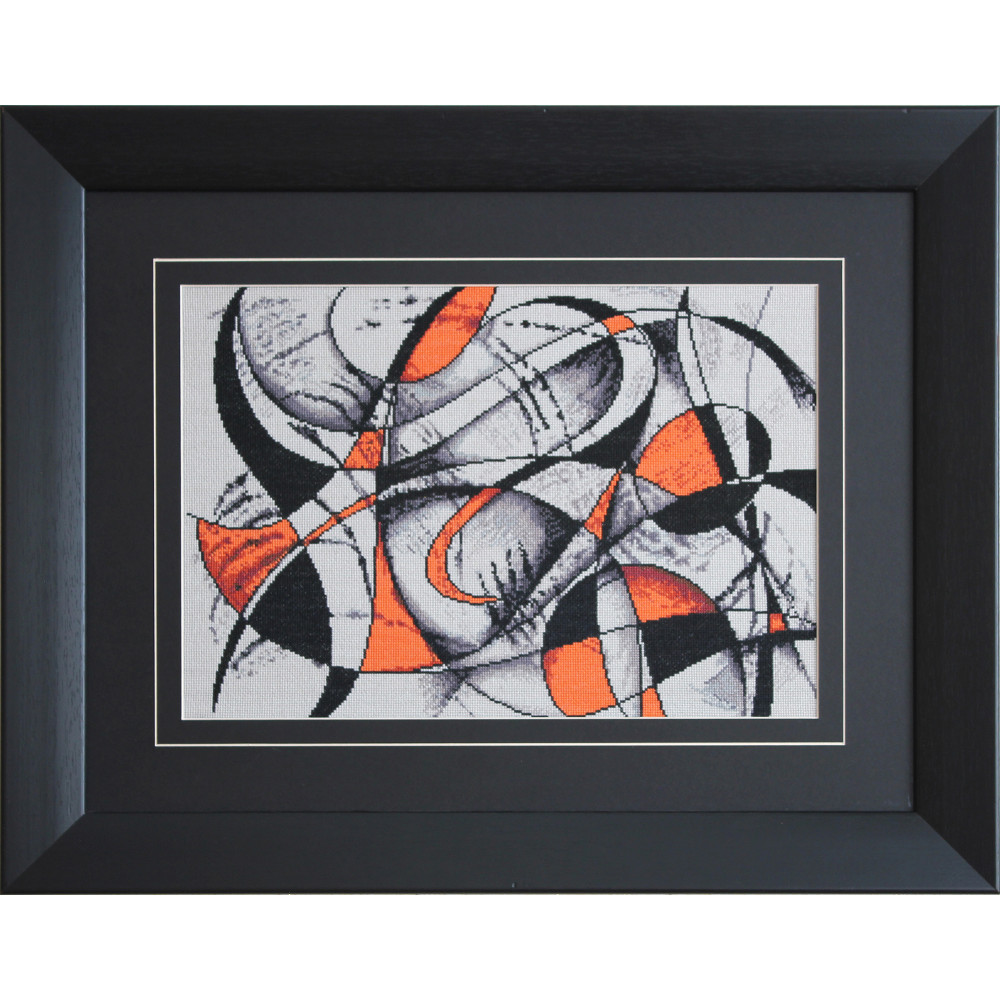 abstraction formes et couleurs luca s b2207 kits broderie. Black Bedroom Furniture Sets. Home Design Ideas