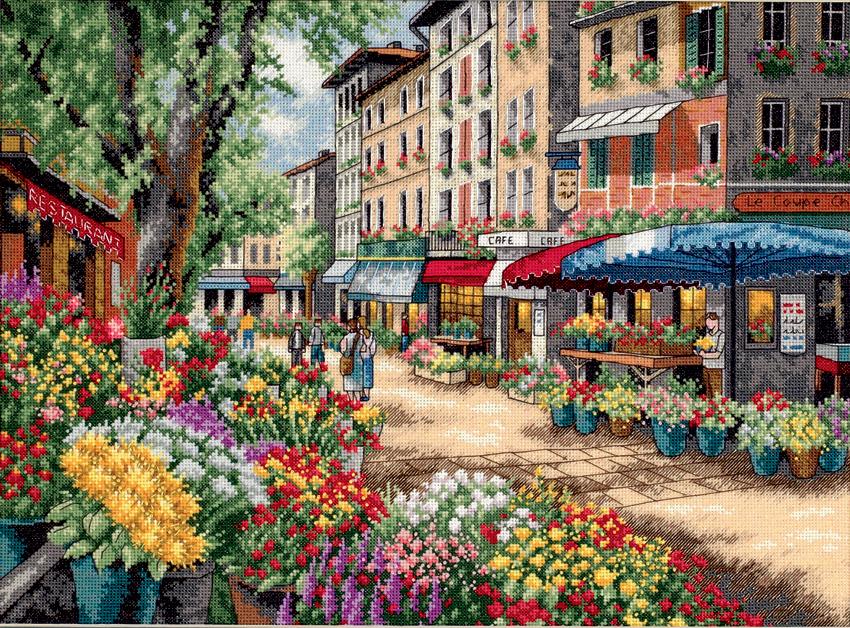 Marché de Paris  35256  Dimensions