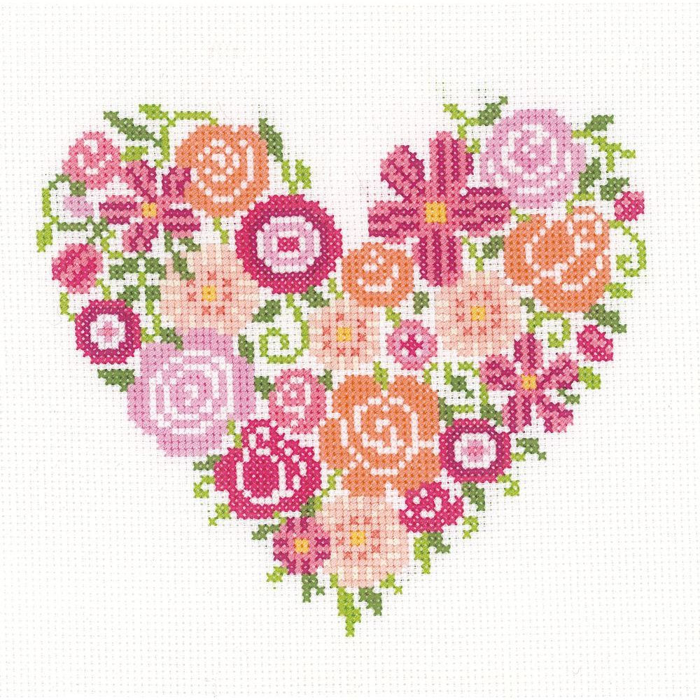 Amour floral  0156336  Vervaco