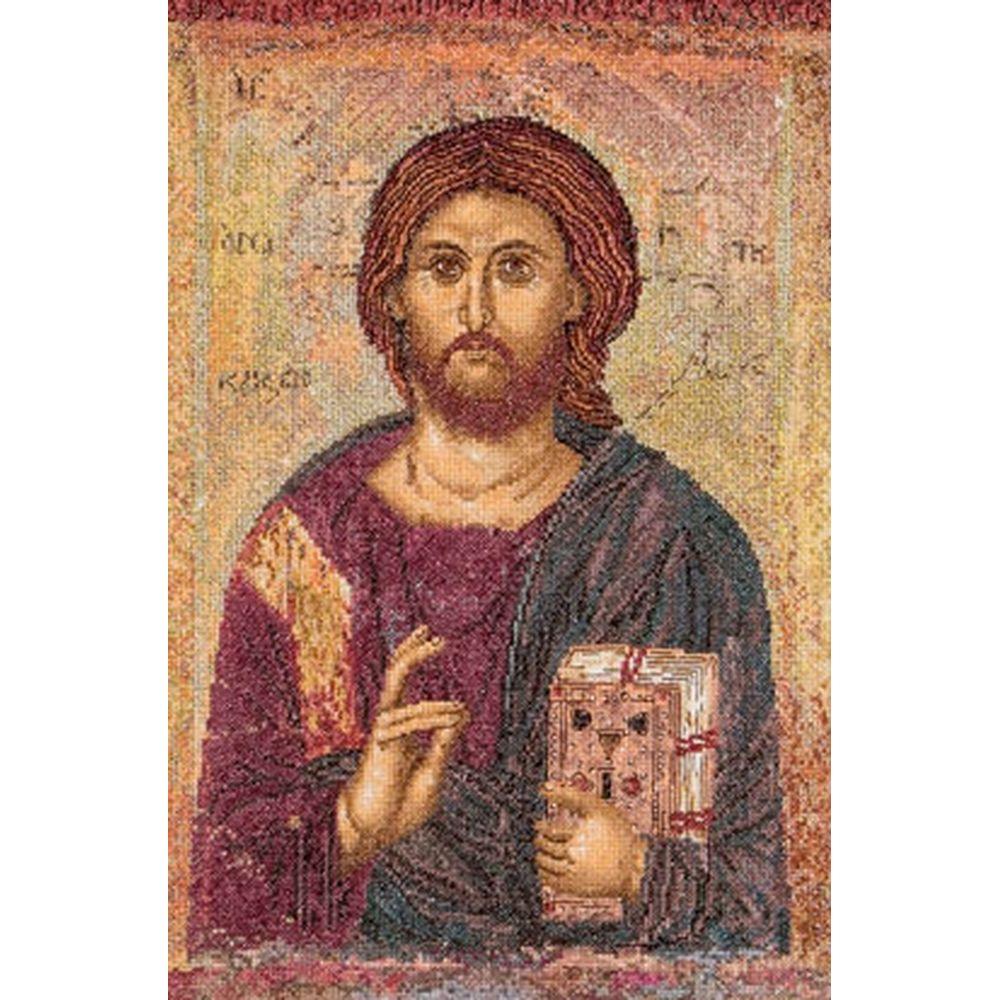 Icône Christ Pantokrator  476A  Thea Gouverneur