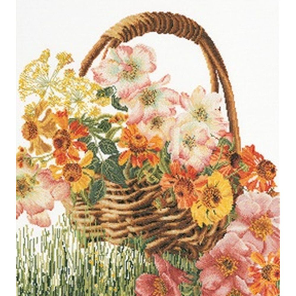 Panier de fleurs  3064A  Thea Gouverneur