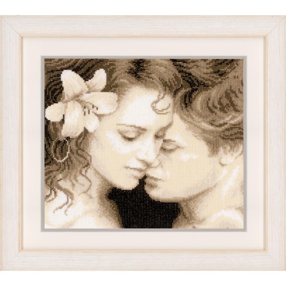 Vervaco  0150602  Rose de l/'Amour  Kit  Broderie  Point de Croix compté