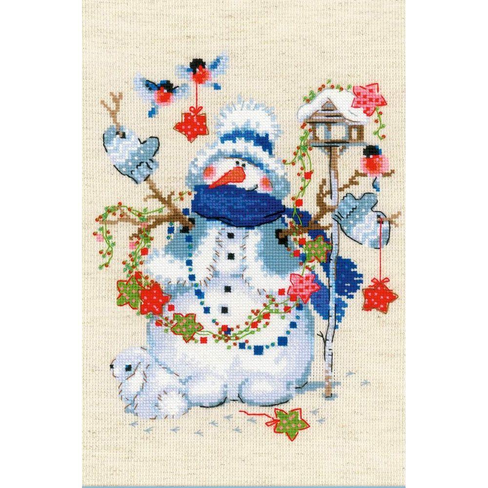 Bonhomme de neige  1757  Riolis