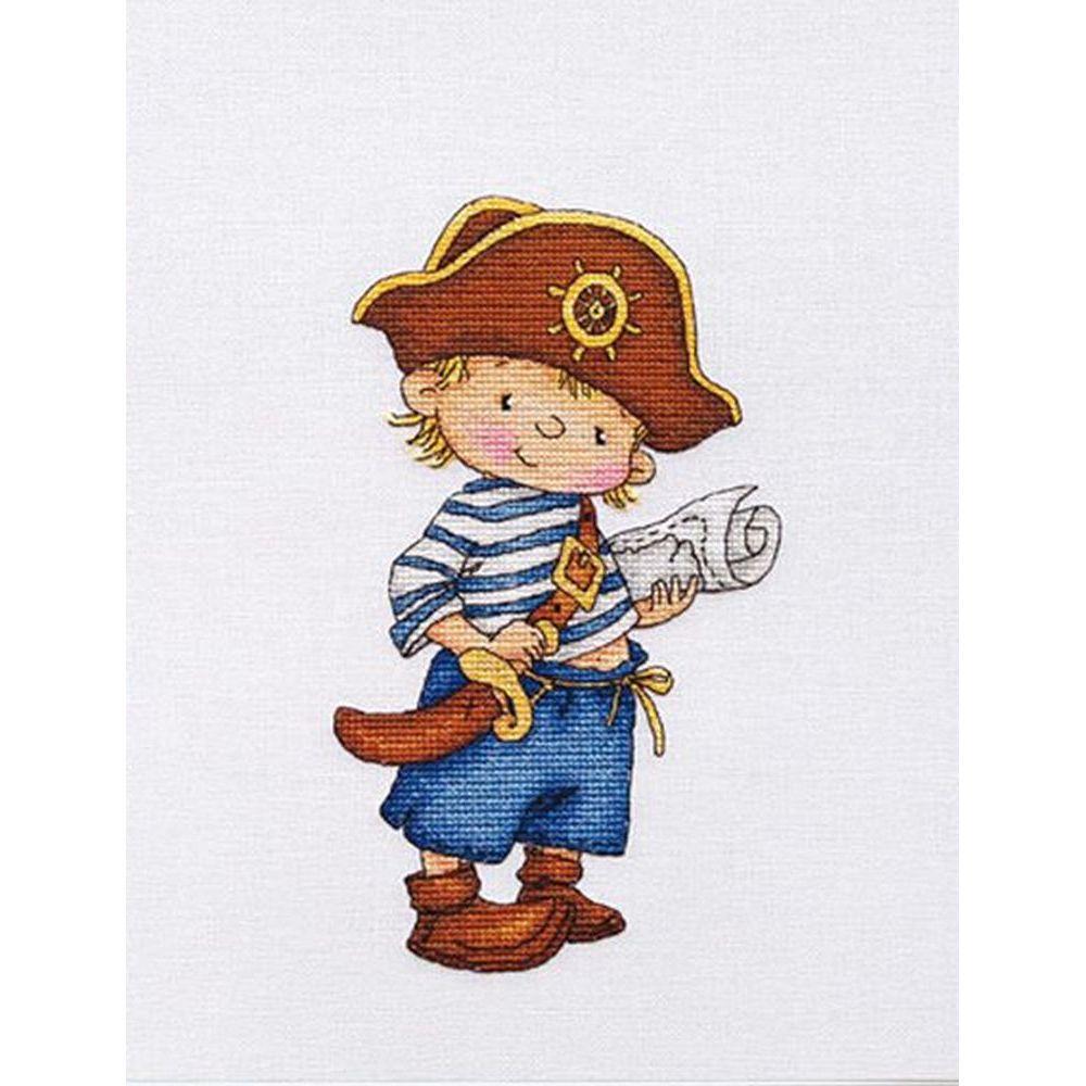 Pirate et sa carte  D036  LanSvit