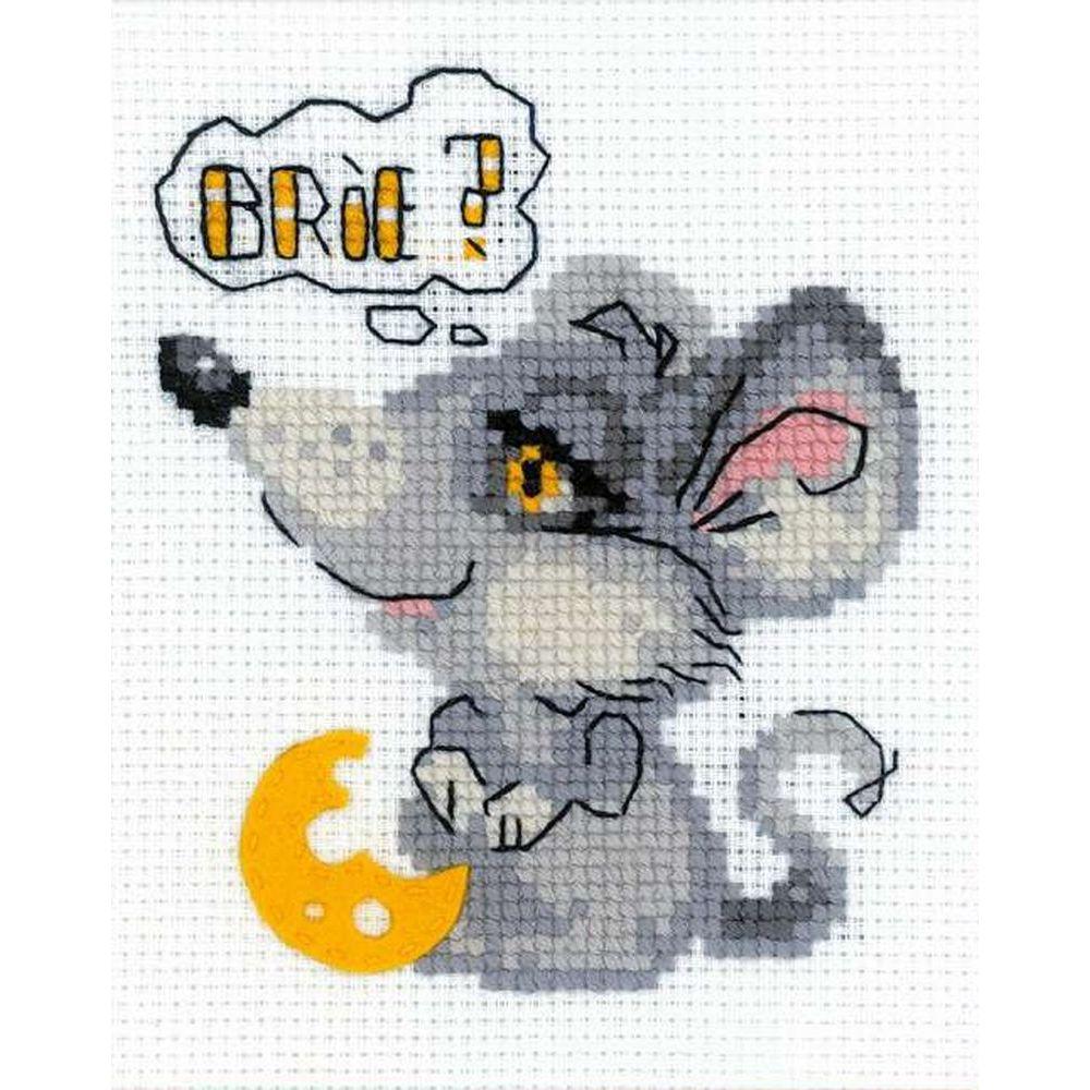 Souris grise  HB140  Riolis