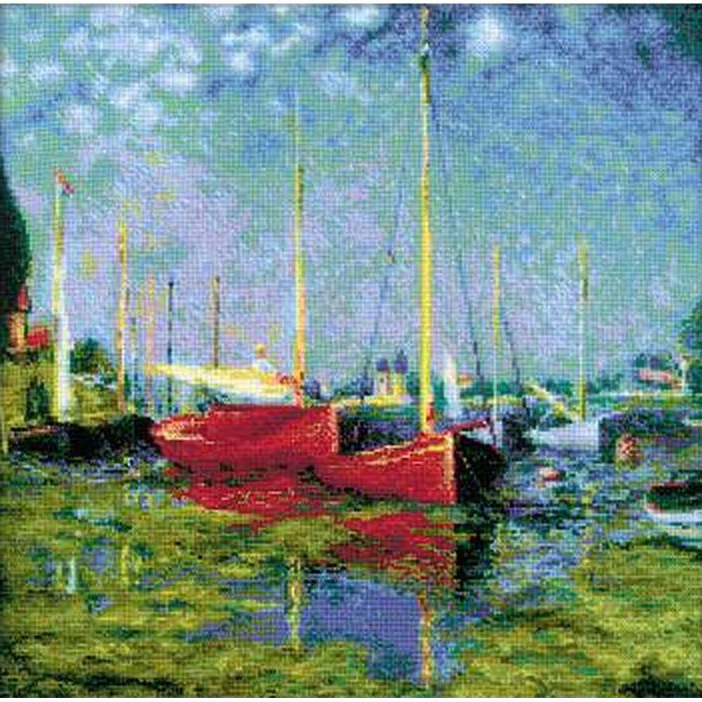 Riolis  1779  Argenteuil after C. Monet s Painting