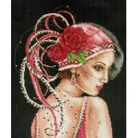 Vervaco  Dame au chapeau rouge  0012219