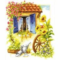 Vervaco  Maison fleuries  0011848